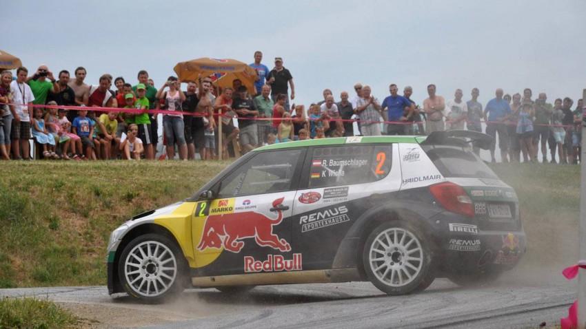 Raimund Baumschlager im Skoda Fabia S2000 bei der Rallye Weiz 2013
