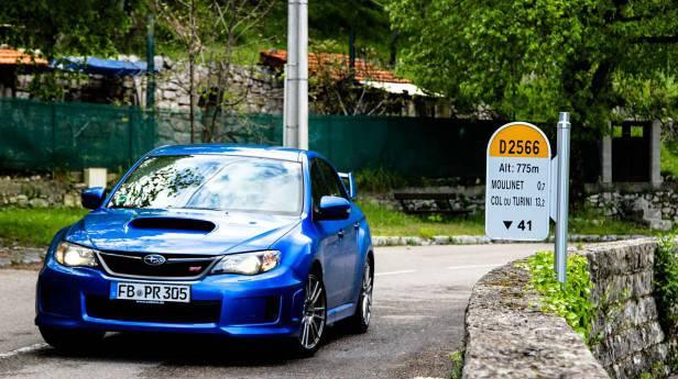 Abschiedstour: Subaru Impreza WRX STI