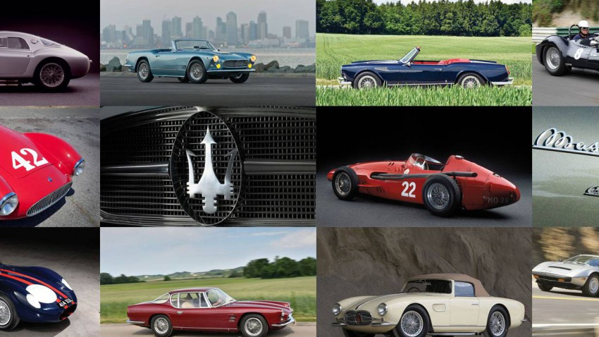 Best of Maserati zum 100. Geburtstag