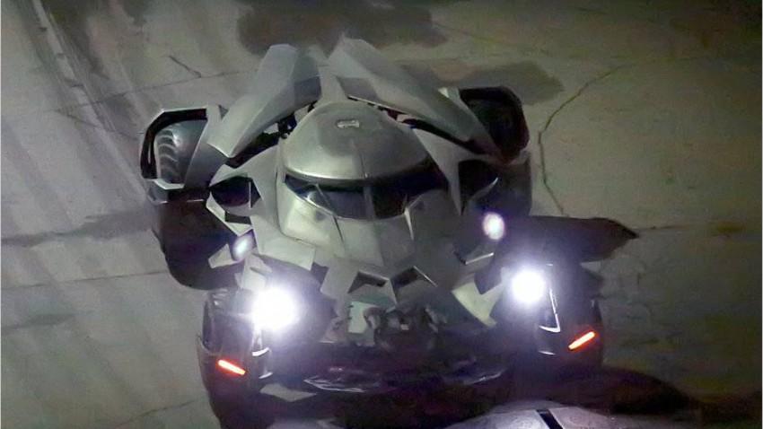 Das ist das neue Batmobil - Ein wahrlich fantastisches Fahrzeug