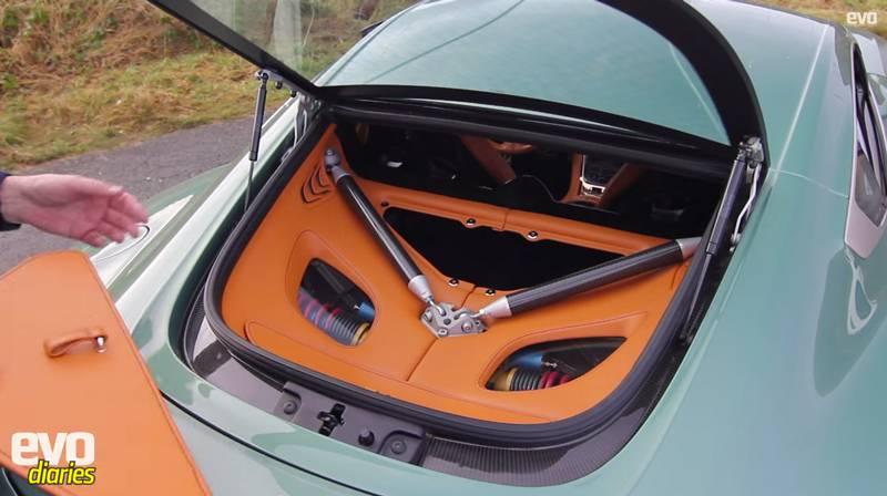aston martin one-77 kofferraum hinterradaufhängung