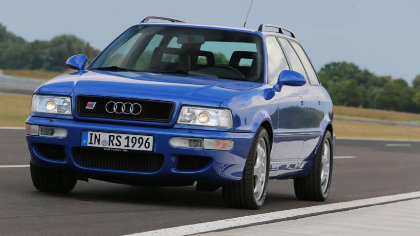 Audi Avant RS2 - Sportwagen getarnt als Familienauto.