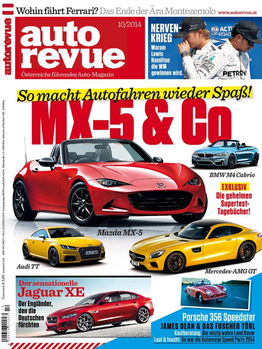 Autorevue Magazin-Archiv: Ausgabe 10/2014