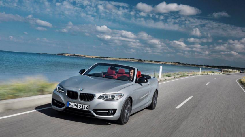 BMW 228i Cabrio. © Bild: Werk