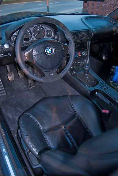 _bmw z3 coupe 1999 lenkrad cockpit