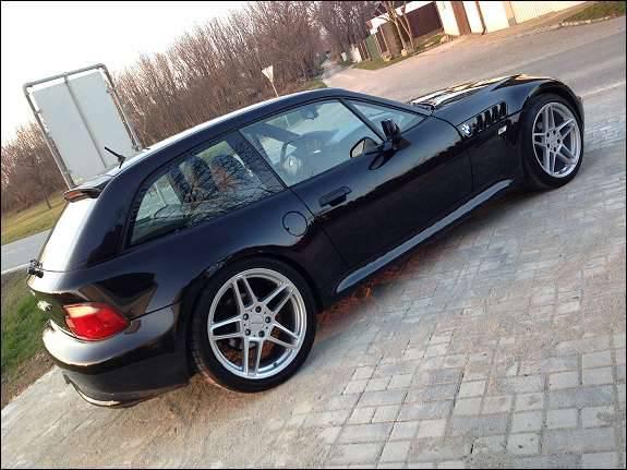 _bmw z3 coupe 1999 seite felgen