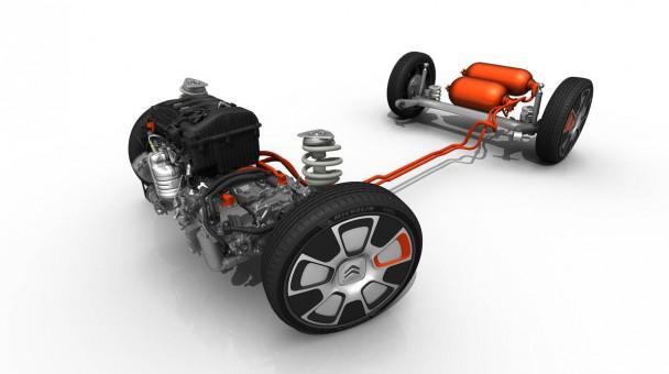Beim Citroen C4 Cactus Airstream wird die Luft gespeichert und mittels einer Pumpe zum Antrieb genutzt
