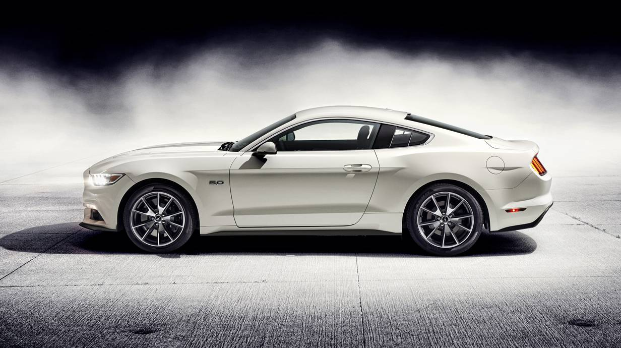 ford mustang 50 years edition. Black Bedroom Furniture Sets. Home Design Ideas