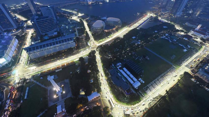 formel 1 grand prix singapur strecke info live stream