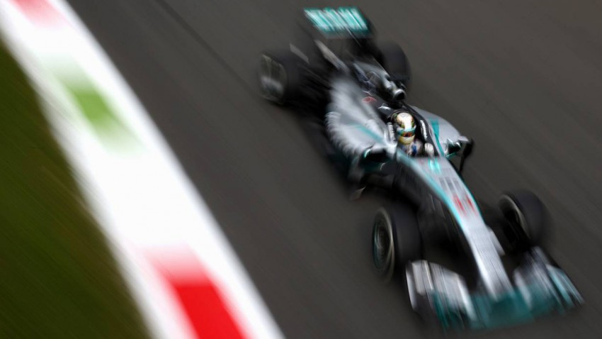 Formel 1 Monza 3. Freis Training Ergebnisse