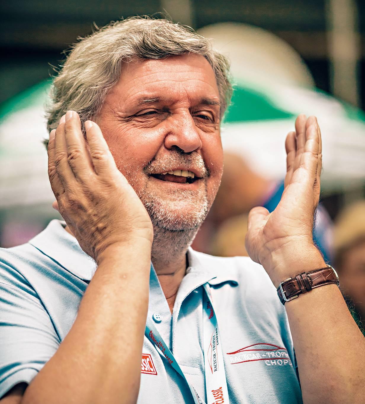 Rallyefilmer Helmut Deimel