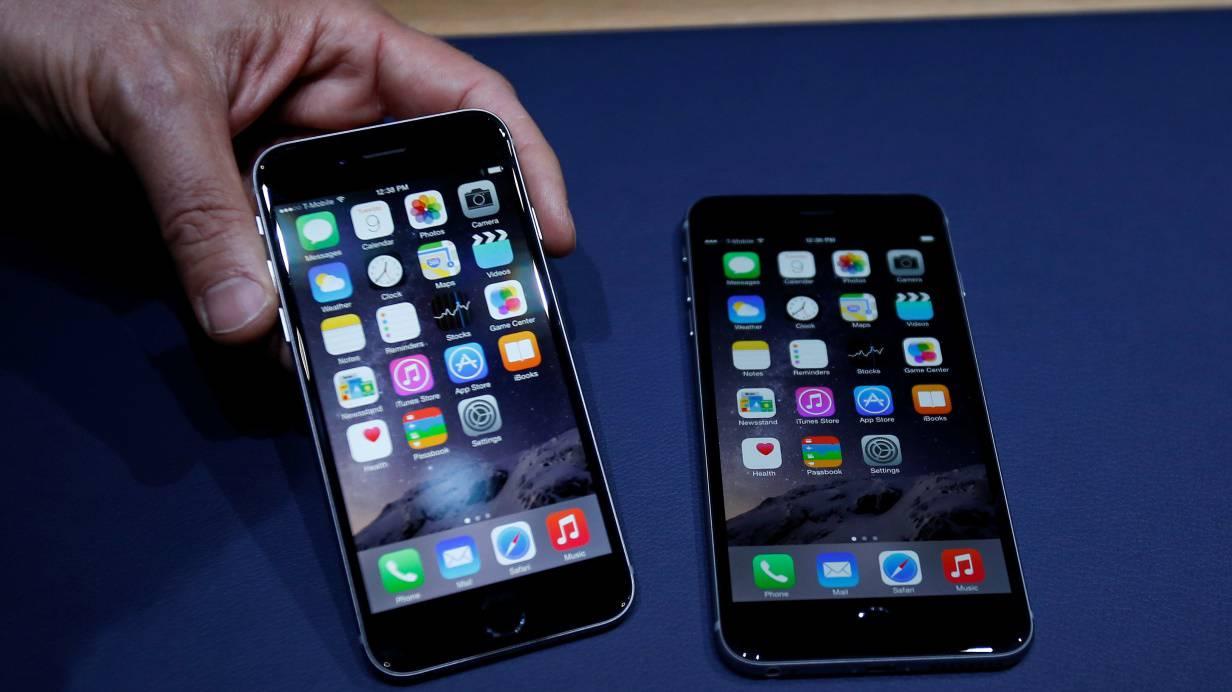das kann das neue apple iphone 6. Black Bedroom Furniture Sets. Home Design Ideas