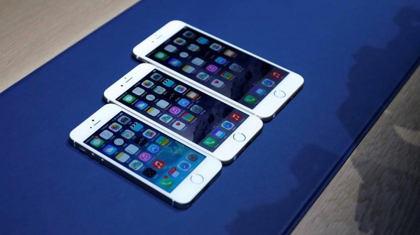 iPhones 5, 6, 6 Plus. © Bild: MONICA DAVEY / EPA / picturedesk.com