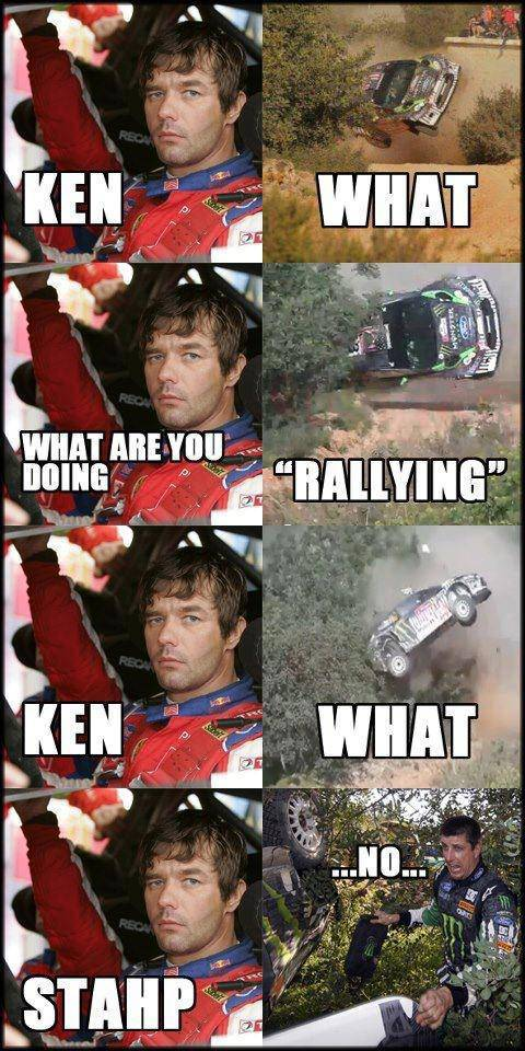_Ken Block Crash stop rallying meme
