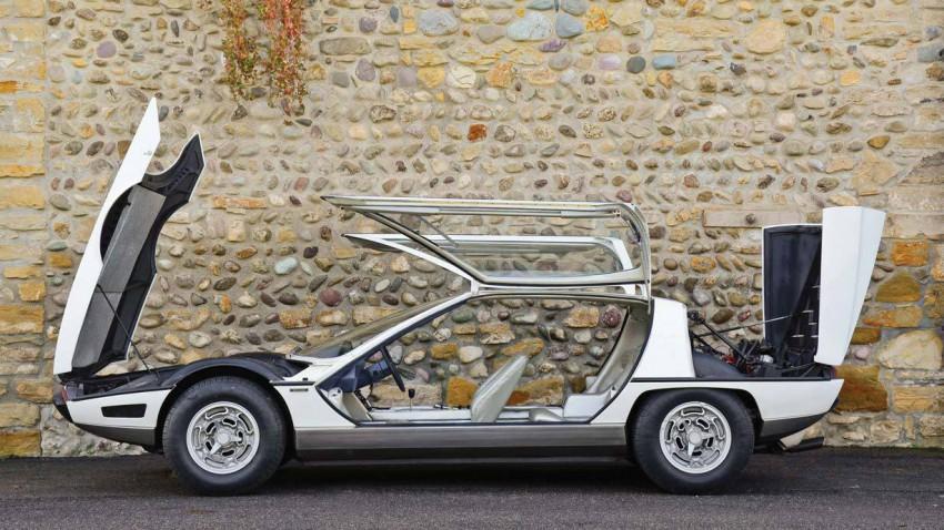 Die Zukunftsvision von Lamborghini (Anno 1967)