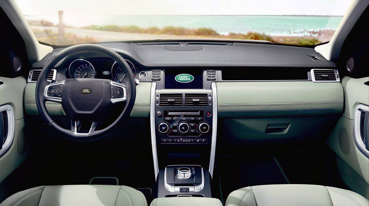 Land Rover Discovery Land Rover Discovery Sport 2015 interieur innen innenraum