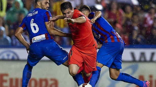 Spielstand Barcelona