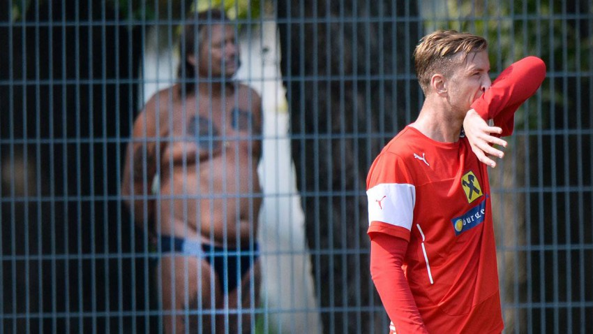 Marc Janko (r.) hat bereits in der WM2014-Quali gegen Schweden treffen können. © Bild: ROBERT JAEGER / APA / picturedesk.com