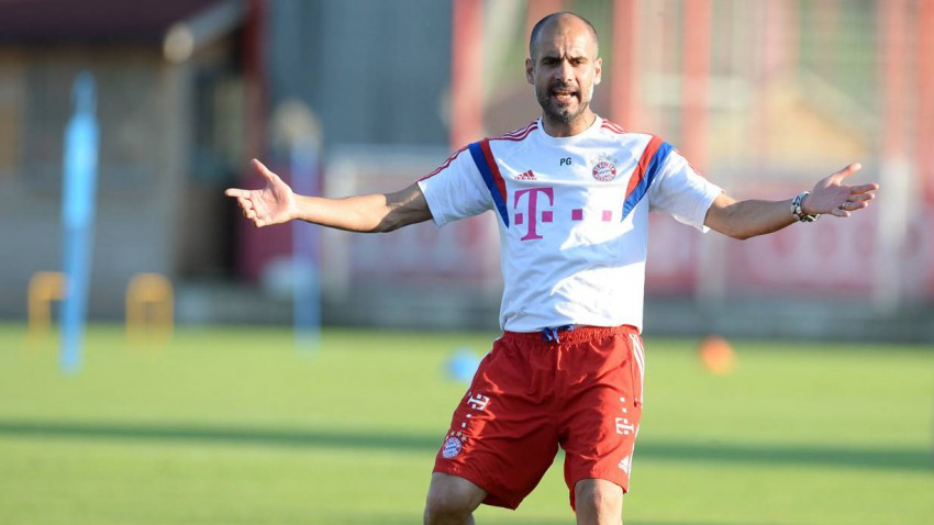 Pep Guardiola FC Bayern München Trainer