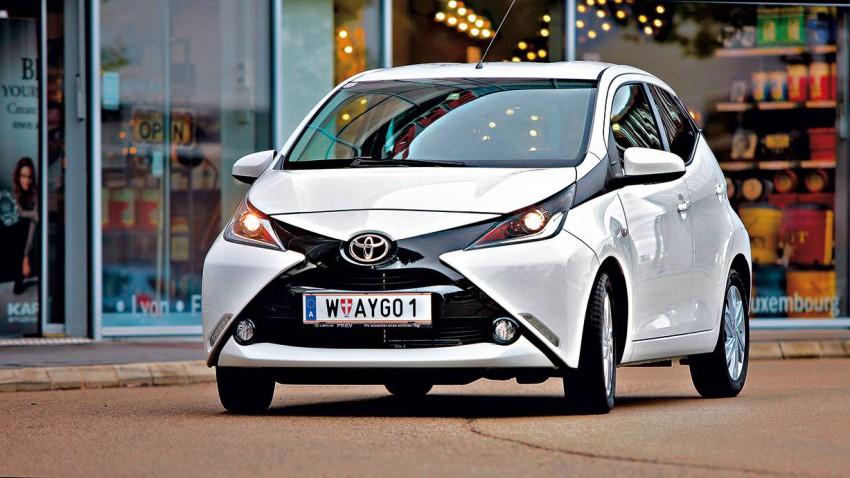 Kleine im Weltall: Toyota Aygo