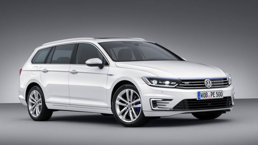 VW Passat GTE hybrid