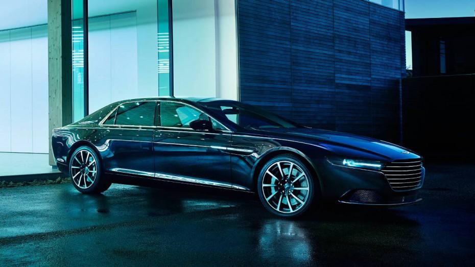 Aston Martin Lagonda 2015 seite vorne scheinwerfer felgen