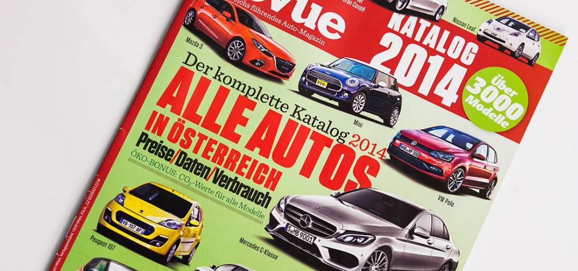 Autorevue Katalog 2014 - alle Autos, die 2014 in Österreich erhältlich waren