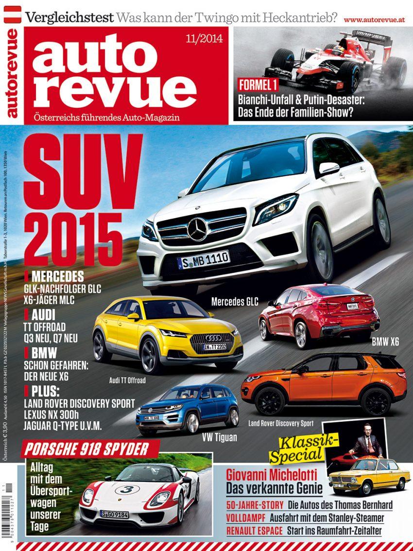 Autorevue Magazin-Archiv: Ausgabe 11/2014