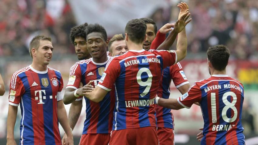 Am 8. Spieltag trifft der Erste auf den Tabellenletzten.