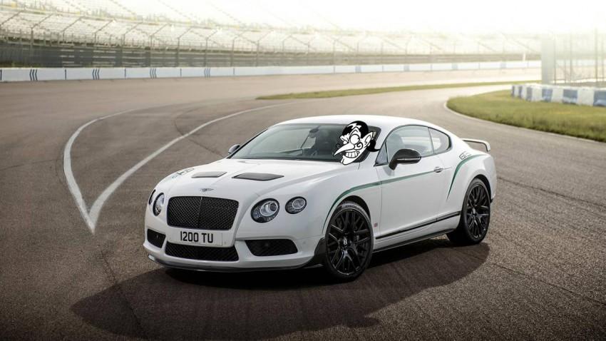 Geflügelt aus Crewe: Bentley Continental GT3-R