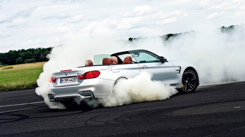 Donnergrollen im Zauberwürfel: BMW M4 Cabrio