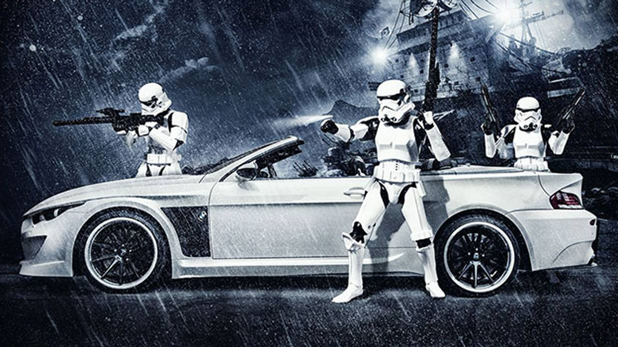 BMW M6 Stormtrooper Star Wars Vilner Tuning