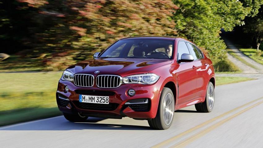 Konkurrenzlos: BMW X6 M50d 2015