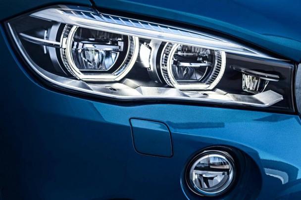 Scharfer Blick des BMW X6 M