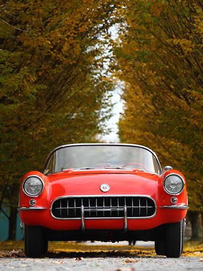 chevrolet Corvette alle Generationen in einem GIF Ikone im Wandel der Zeit Urmeter Porsche 911