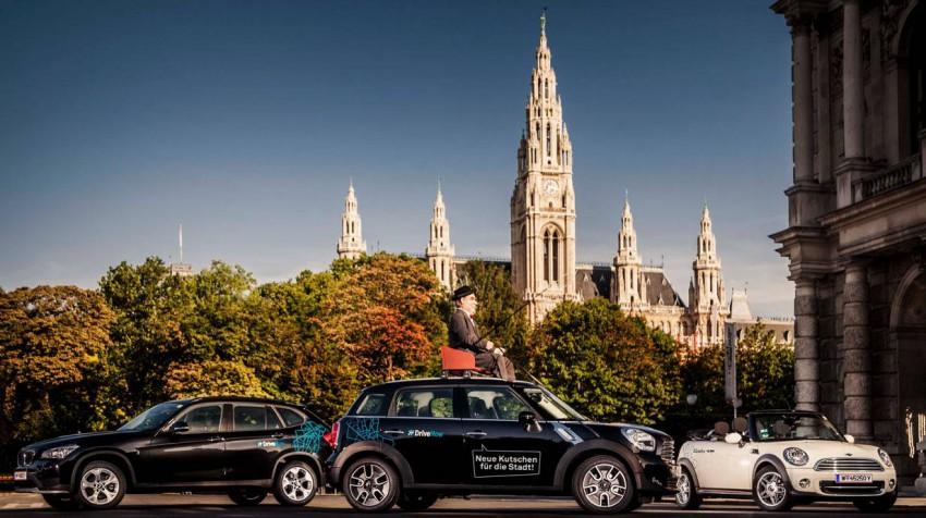 BMW und SIXT steigen mit DriveNow in den Carsharing-Markt ein.