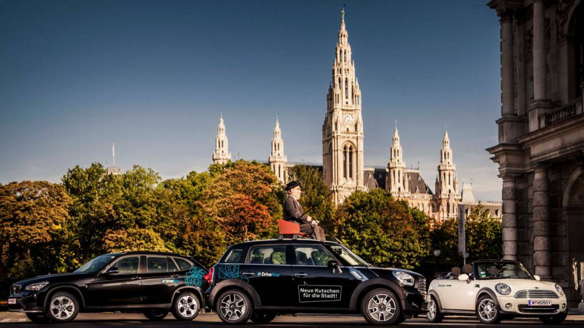 DriveNow entert den Carsharing-Markt in Wien