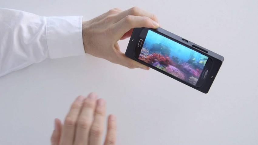 Smartphones bald berührungslos per Gesten steuerbar