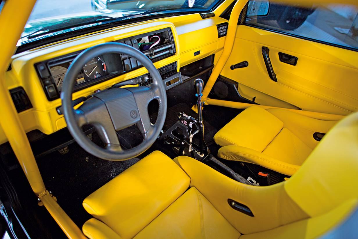 VW Rallyegolf, 1988  Kaufpreis: 12.000 Euro (2013) KM-Stand: 200.002 km Investition: 30.000 Euro – G-Lader Motor gegen 16V getauscht.  Besonders: auf 5000 Stück limitiert.