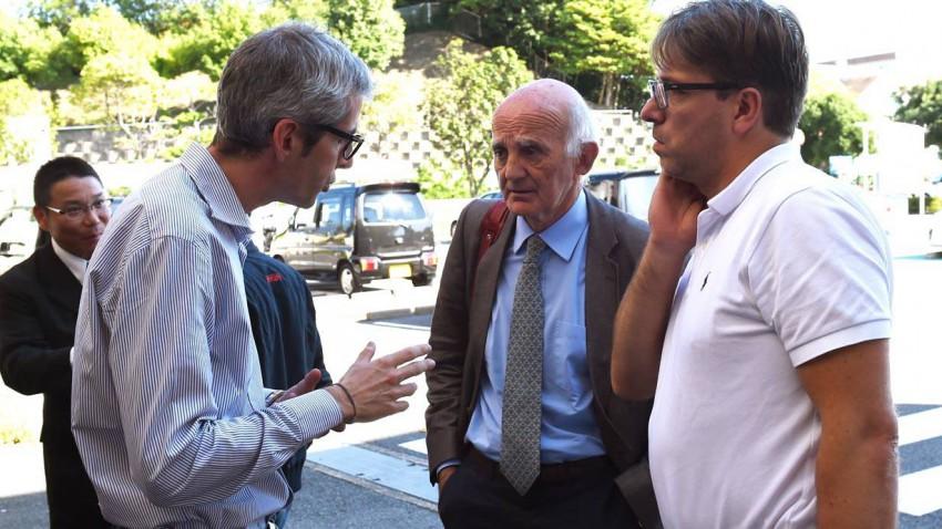 """Gerard Saillant (M) ist Präsident des """"Instituts für Gehirn und Knochenmark"""" am Pariser Salpêtrière"""