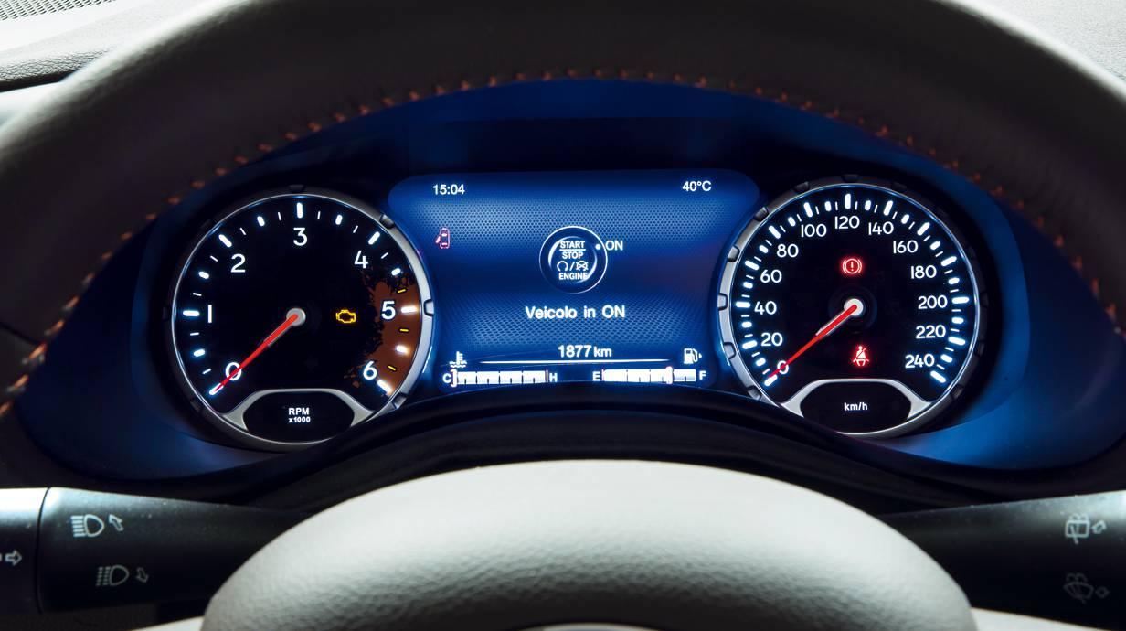 jeep rengade 2014 weiß tacho digitaltacho