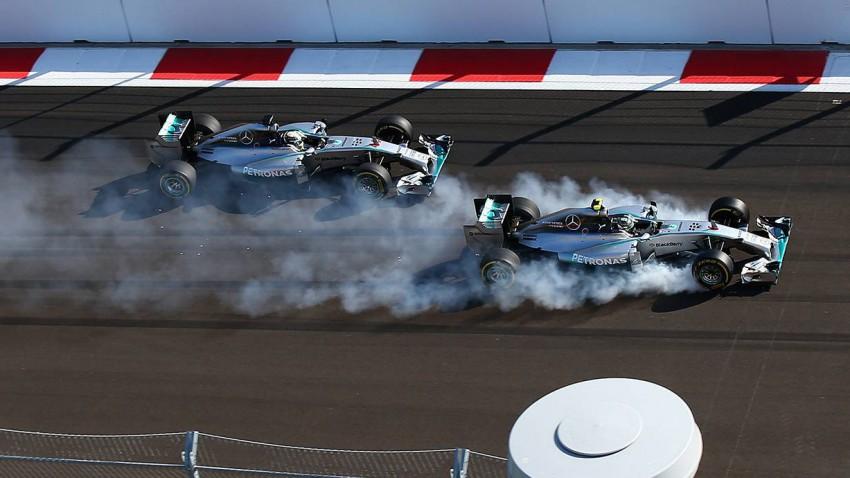 F1 GP von Russland: Hamilton gewinnt und fährt Mercedes zu WM-Titel