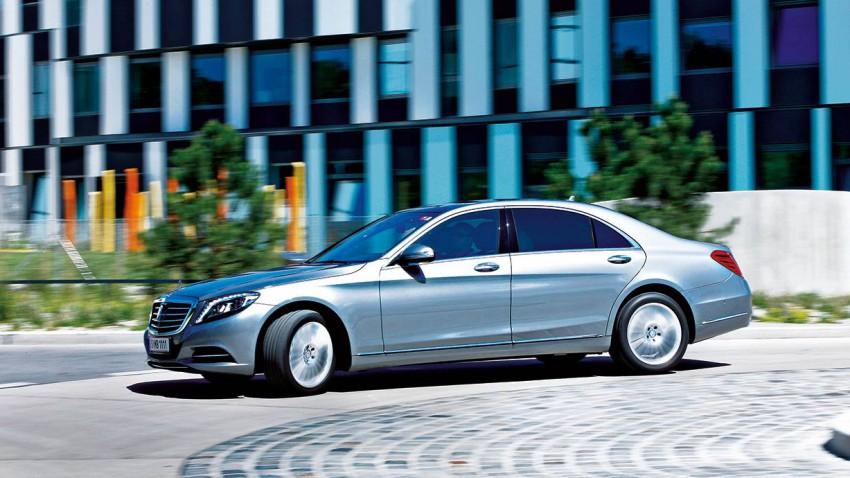 Mercedes-Benz S500 lang 4Matic: Ruhe auf den teuren Plätzen!