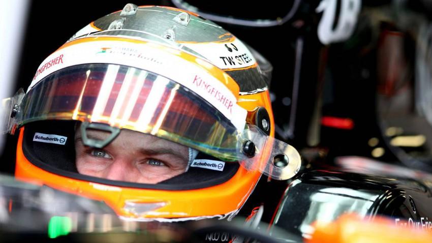 Nico Hülkenberg fährt auch 2015 für Force India.