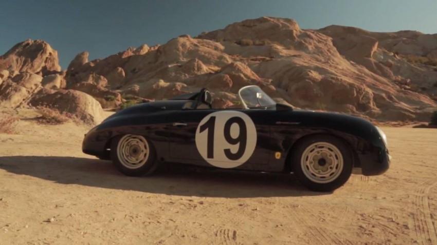 Das ist Rod Emorys 1957er Porsche 356 Speedster.
