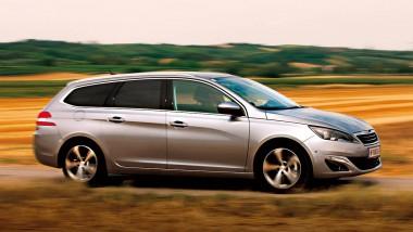 Peugeot 308 SW 2,0 BlueHDi 150 S&S Automatik Allure 2014 seite dynamisch