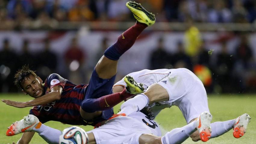 Real Madrird gegen FC Barcelona am 25.10.2014 um 18 Uhr.