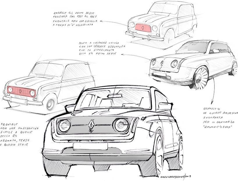 Der Renault 4 von David Obendorfer