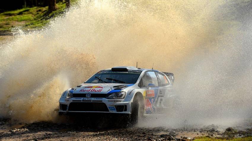 sebastien ogier rallye volkswagen polo r wrc australien rallye 2014
