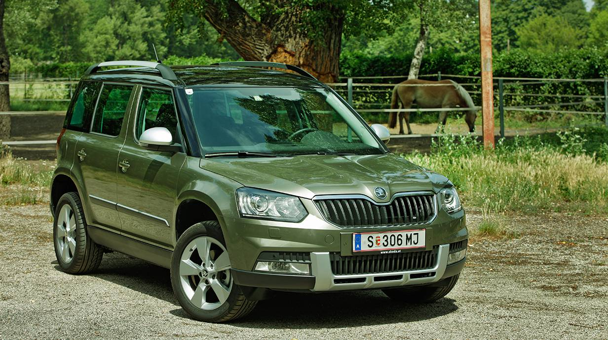 schmeichler unserer seelen skoda yeti 4x4. Black Bedroom Furniture Sets. Home Design Ideas